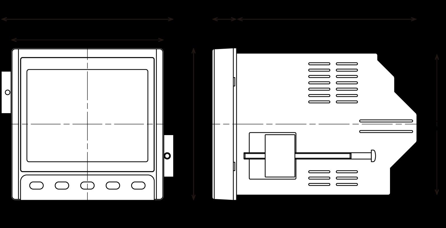 SQLC-72L Dimensions